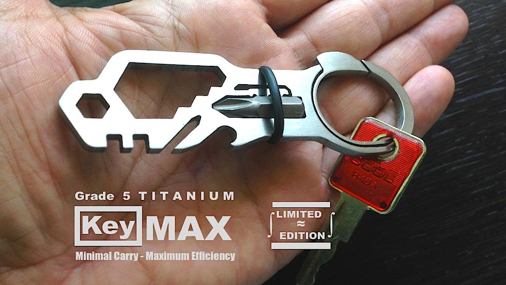 KeyMAX™- Push Button Key Ring - 22 Function Multi-Tool EDC project video thumbnail
