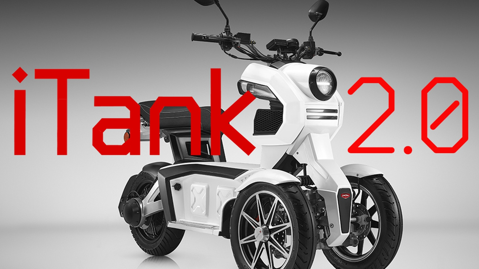 Doohan iTank 2 0: IMPROVED 3-Wheel Urban Crossover Scooter