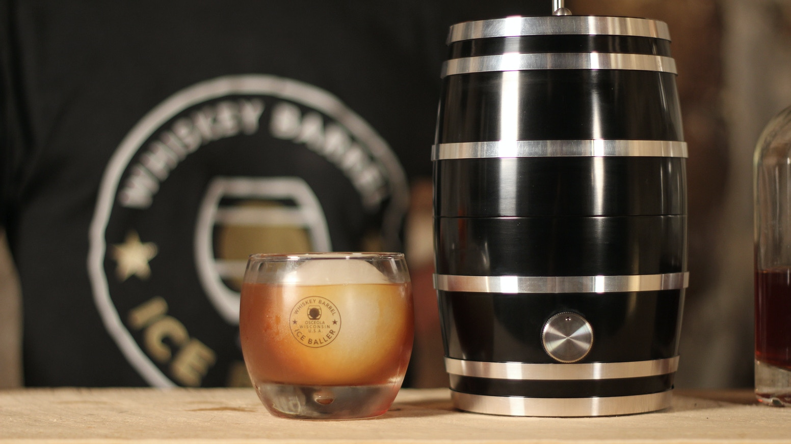 Our whiskey ice ball press is the finest, most fully featured ice ball press in the world. Take your whiskey to the next level!