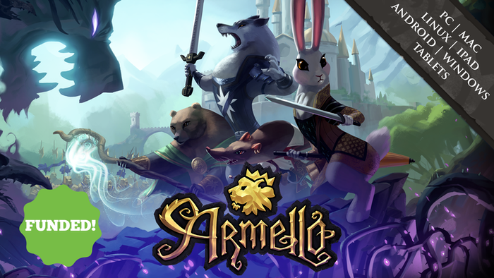 A digital card and board game of heroes and high-adventure set in the fairy-tale animal kingdom of Armello!