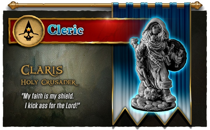 Cleric [33mm toe-to-eye]