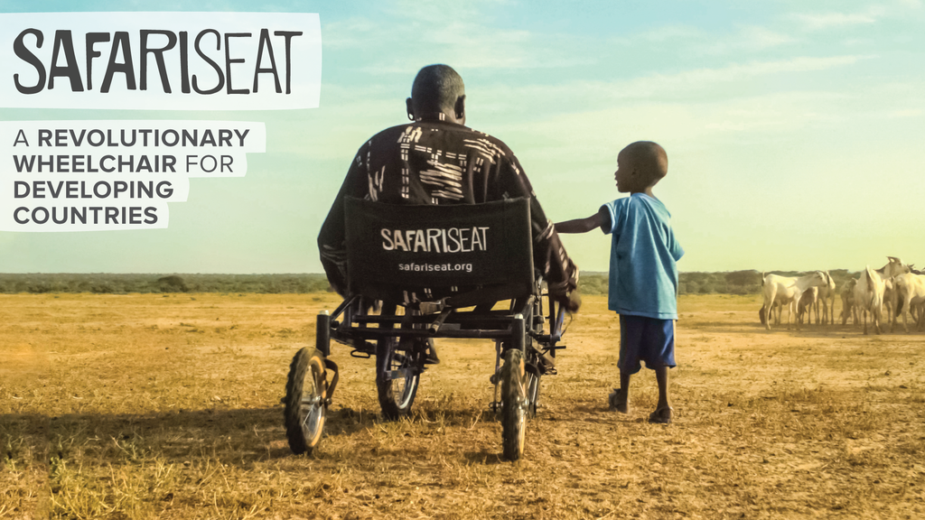 SafariSeat: Open source wheelchair for developing countries. project video thumbnail