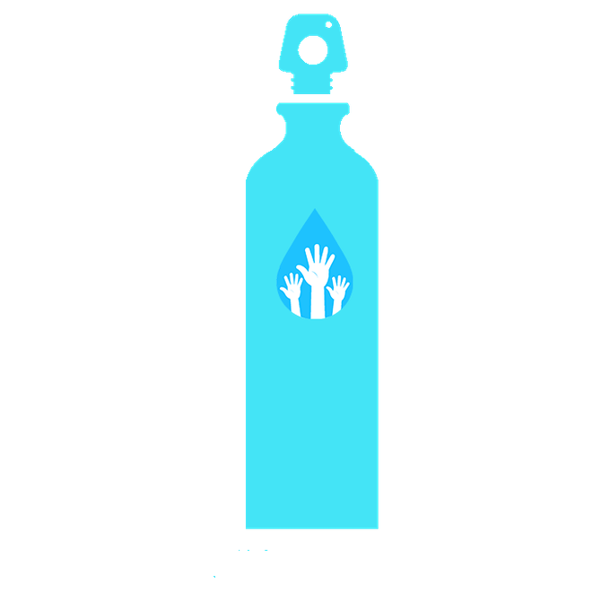 Waterbottle mock up (actual bottle may vary)
