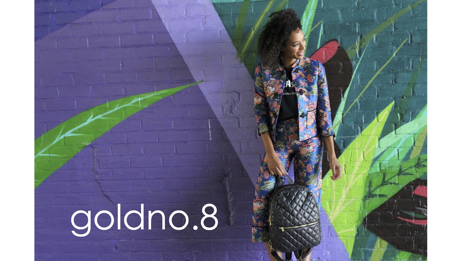 goldno.8 allows you to be the designer of your bag.  Pick each component and build a bag that reflects your own unique style.