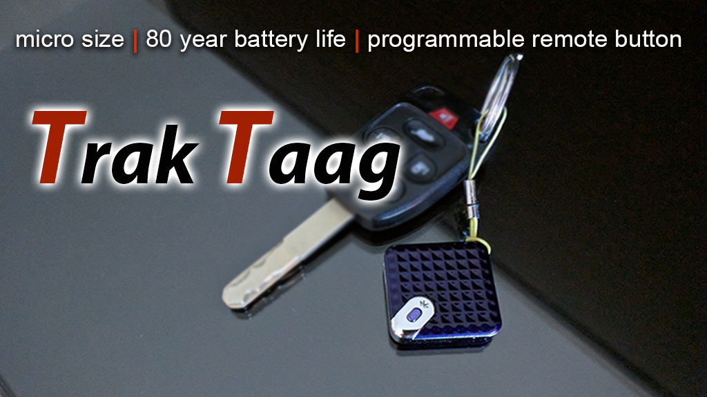 Trak Taag Tracker with 80 Year Battery + SOS / Video Button project video thumbnail