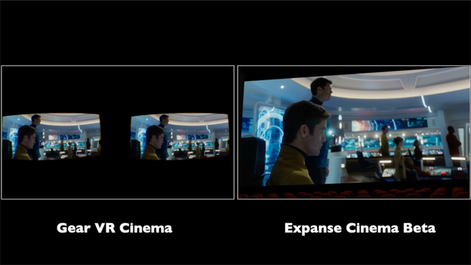 Expanse uses nearly all of your phone's pixels.