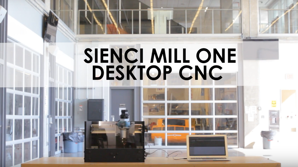 Sienci Mill One: Simple and Affordable Desktop CNC Milling project video thumbnail