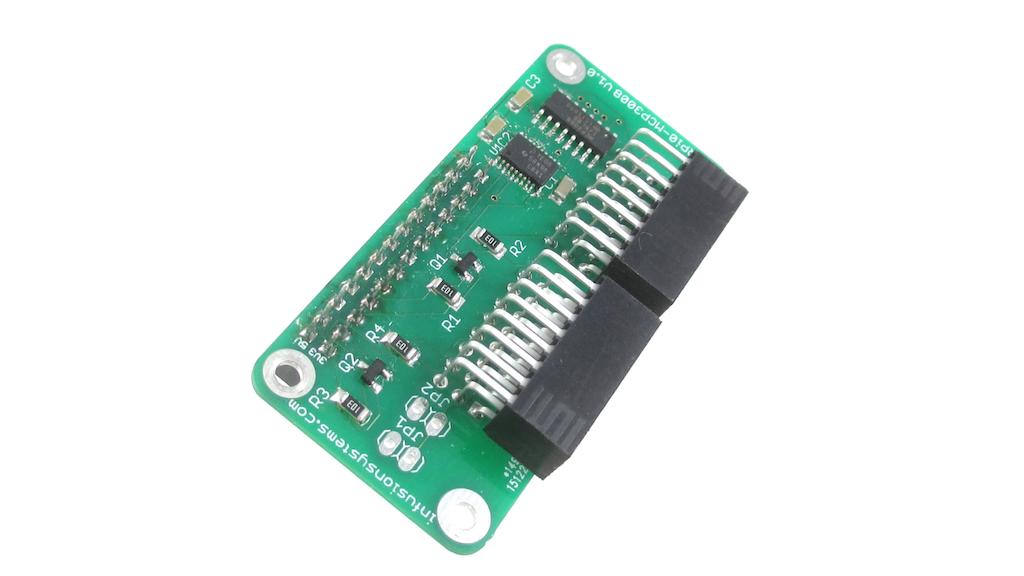 PiShield: Sensor Interface board for Raspberry Pi project video thumbnail