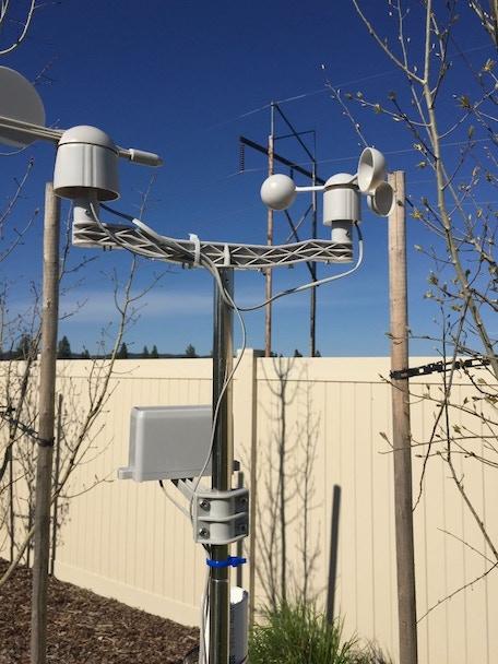 WeatherRack Wind and Rain Sensor