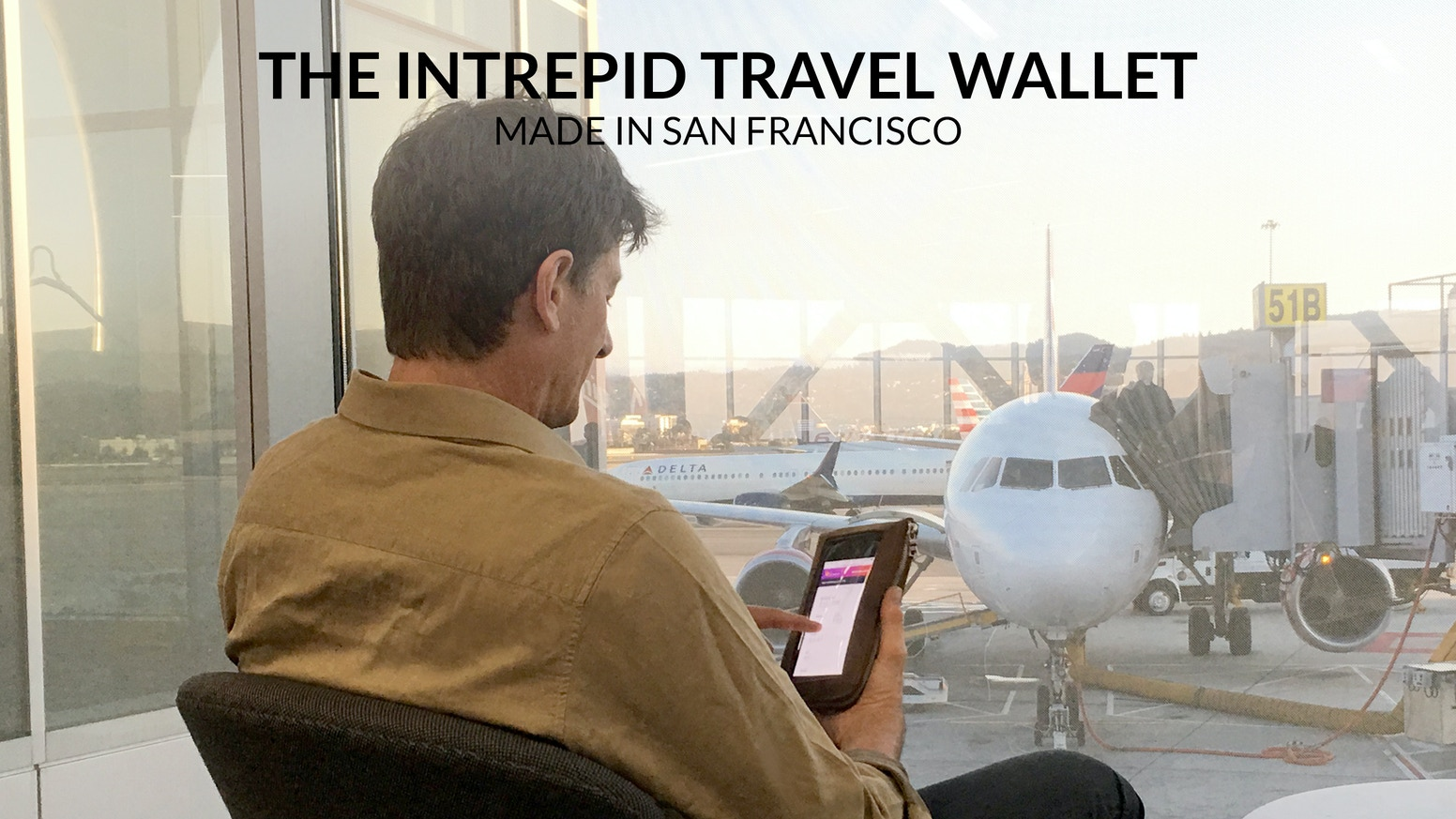 The intrepid travel wallet for iphone made in usa by for Sf contact nackenkissen small
