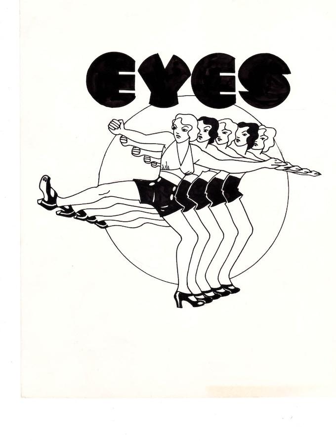 """eyes 1 10"""" x 11.25"""""""