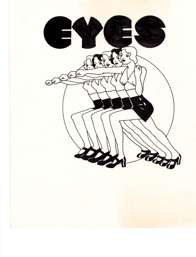 """eyes 3 10"""" x 11.25"""""""