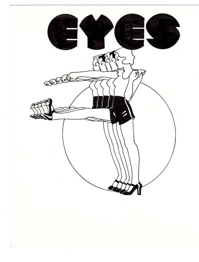 """eyes 4 10"""" x 11.25"""""""