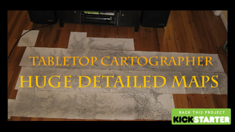 Tabletop Cartographer: Large Scale Fantasy Maps