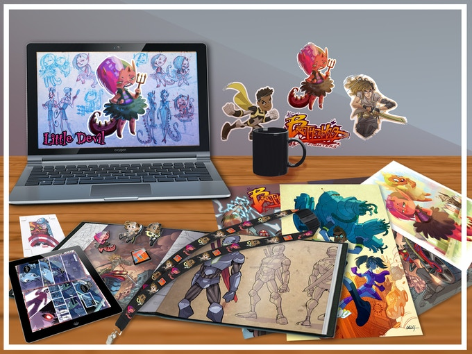 Everything in our SWEEP THE LEG tier - PLUS all GUEST ARTIST prints!