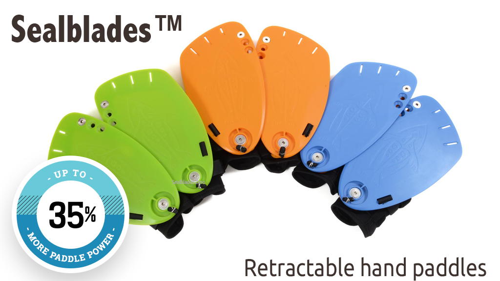 Sealblades - World's first retracting hand paddles project video thumbnail