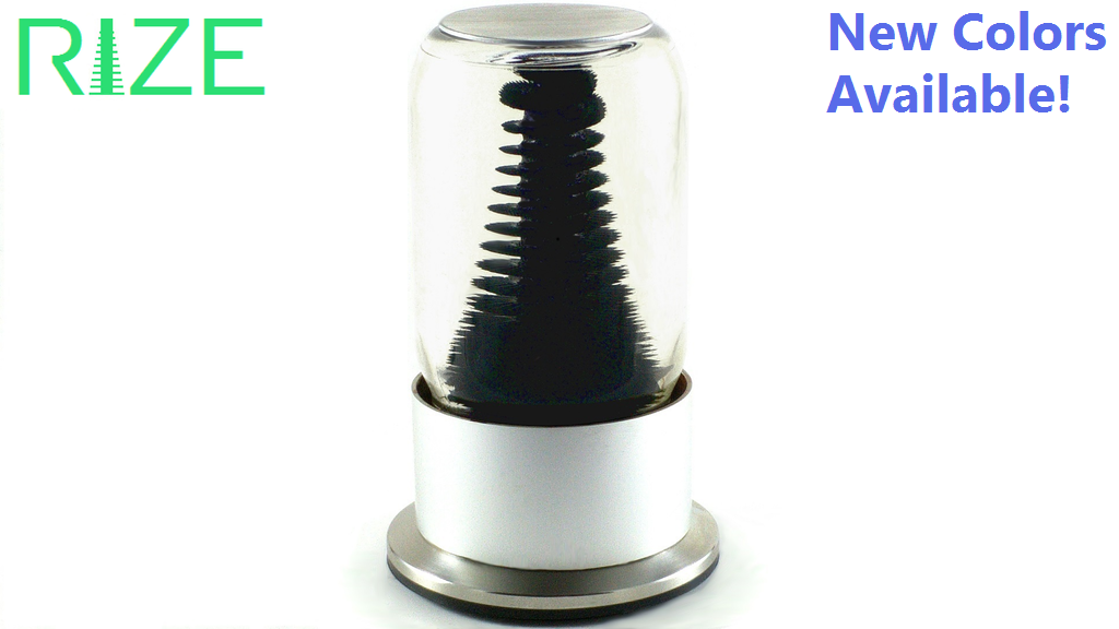 RIZE Spinning Ferrofluid Display project video thumbnail
