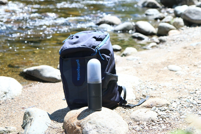 Estream: A portable water power generator fits into backpack