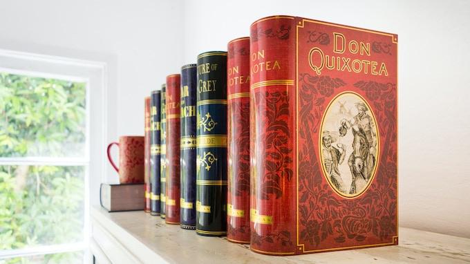 Our original library of tea