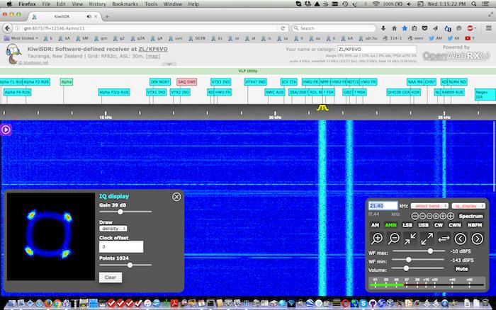 KiwiSDR: BeagleBone Software-defined Radio (SDR) with GPS by