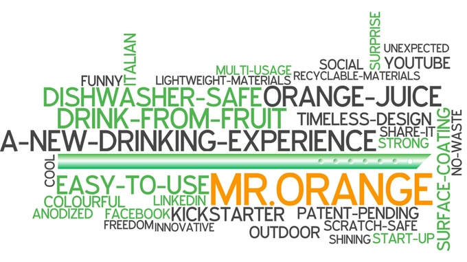 MR  ORANGE - A new drinking experience by Pasini & Peckelsen