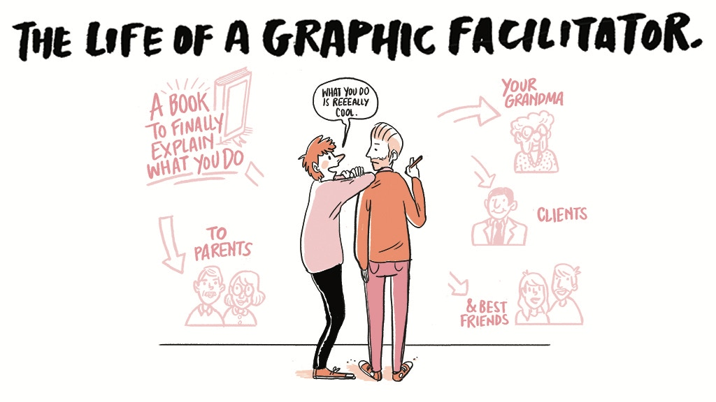 The Life of a Graphic Facilitator - The Book project video thumbnail
