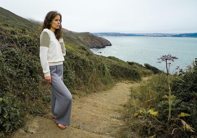 Organic Cotton Velvet Teodora Sweater + Merino Wool Yulia Pant
