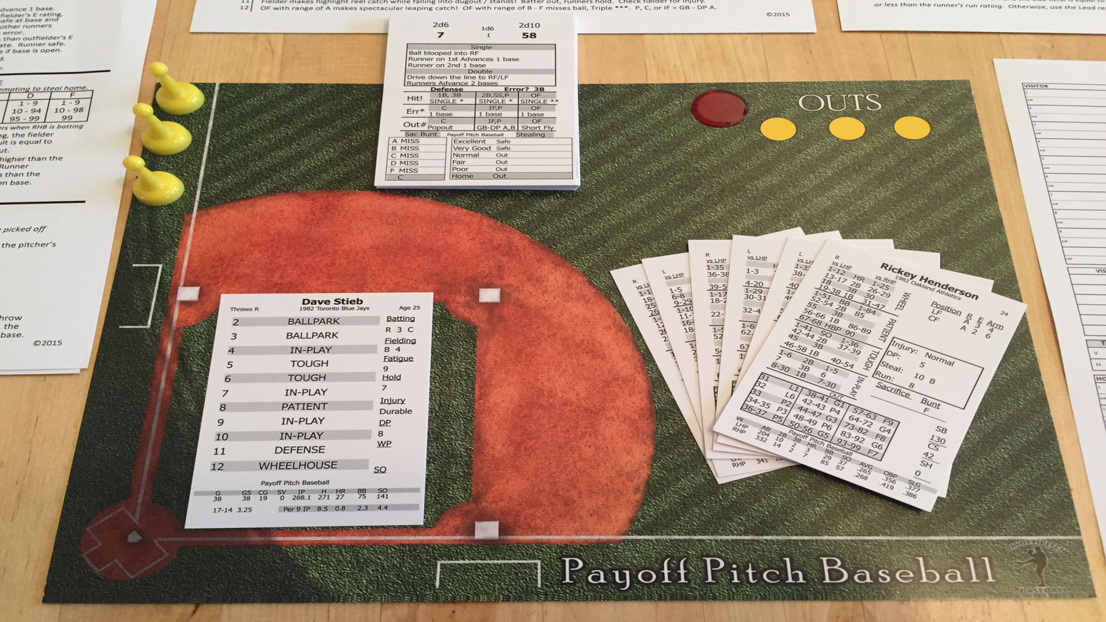 Payoff Pitch Baseball 1948 Baseball Card Set By Joe Bryan