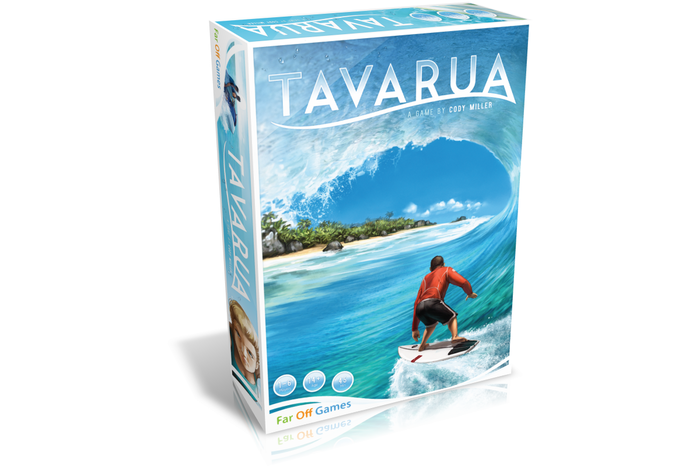 A 1-6 player tabletop surfing game. Choose a board, paddle out, and catch waves! Show your tricks and prove you're the best surfer!