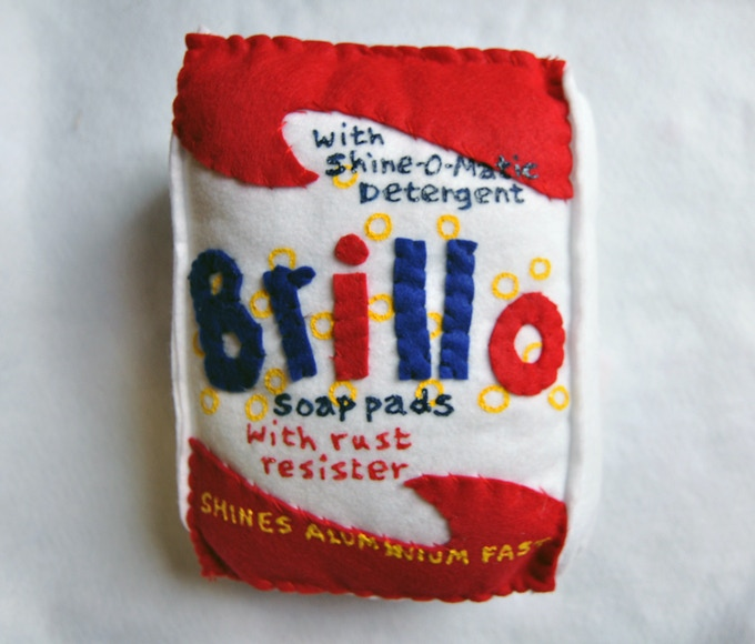 Giant Signed Brillo Pads