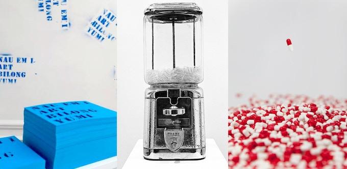 Lawrence Weiner, Yoko Ono, and Carsten Höller make artwork for you to take away