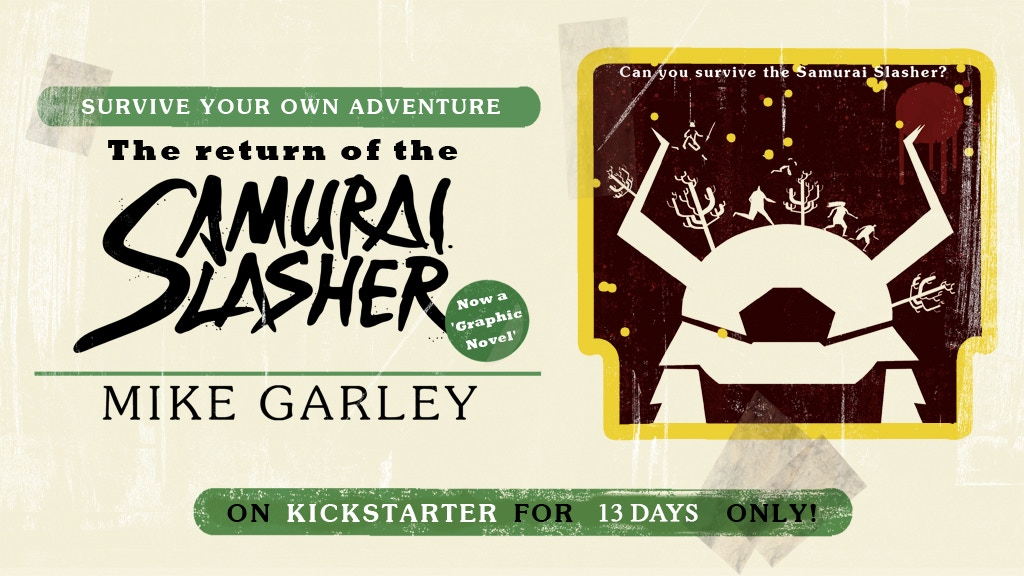 The Samurai Slasher (Survive your own Adventure book) is the top crowdfunding project launched today. The Samurai Slasher (Survive your own Adventure book) raised over $1670 from 82 backers. Other top projects include Pornoscopes: Cancer, Cute Red Panda Enamel Pin!, The Ohio Kid Co....