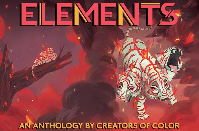 ELEMENTS: Fire - A comics anthology by creators of color