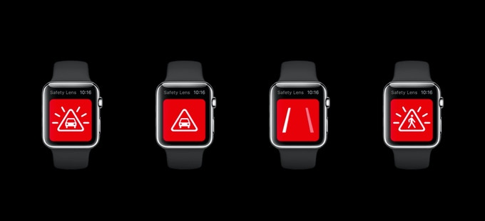Apple Watch Advanced Driver Assistance Notifications