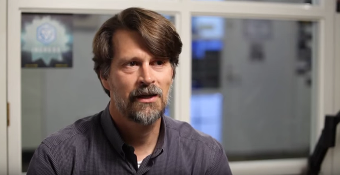 Founder and CEO of Niantic, Inc., John Hanke during an interview