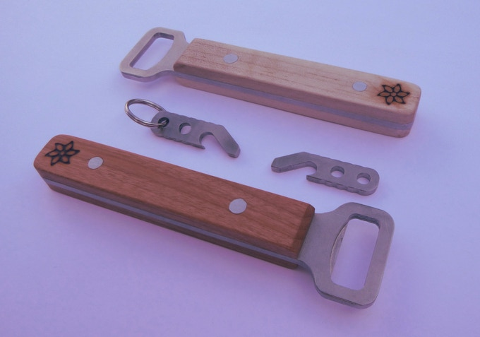 classic and keychain edc beer bottle openers made in usa by christopher atwood kickstarter. Black Bedroom Furniture Sets. Home Design Ideas