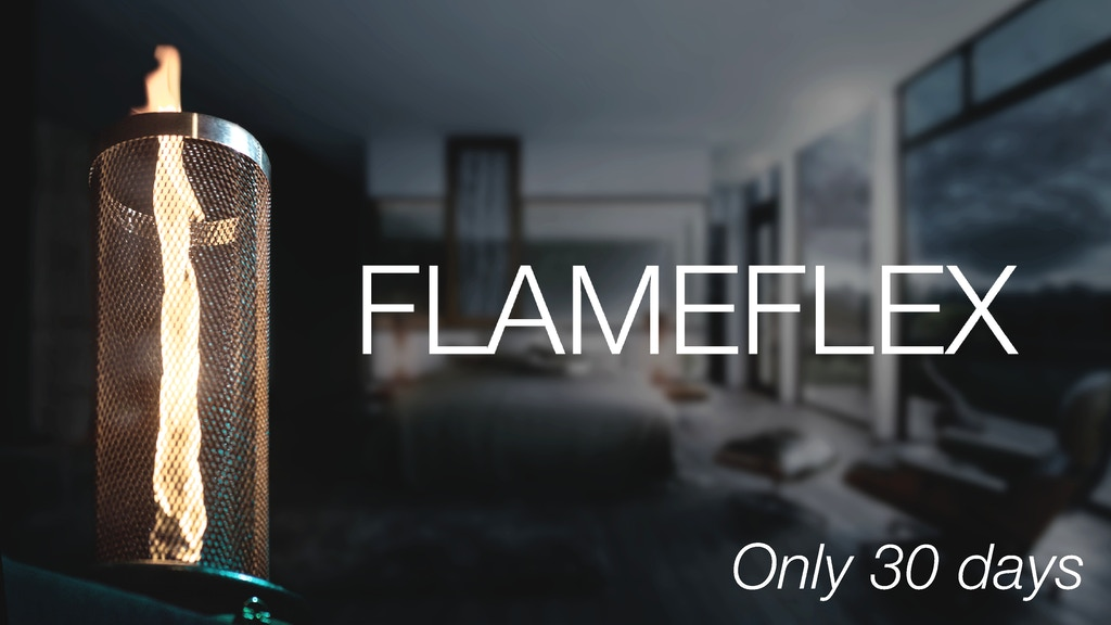Flameflex. You can have a real fire tornado on your table. project video thumbnail
