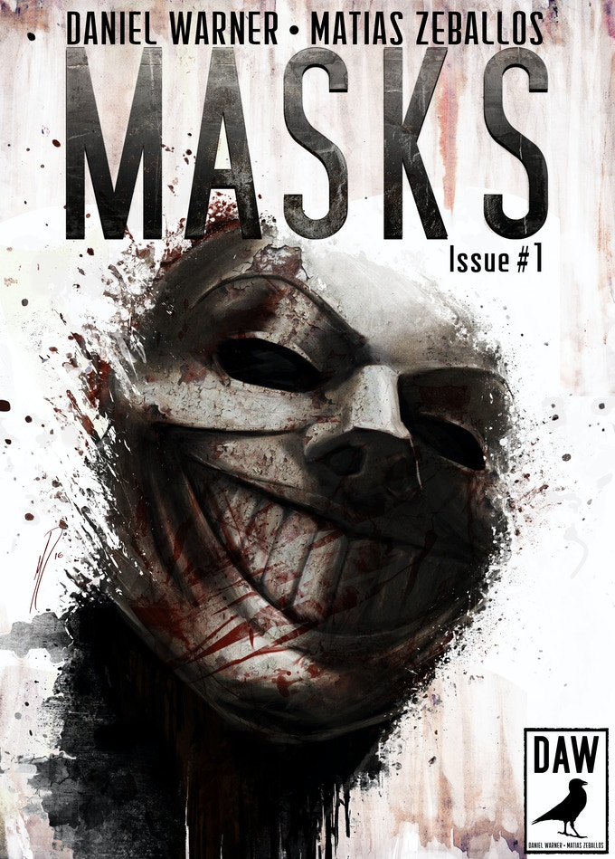 Masks Issue 1 Cover