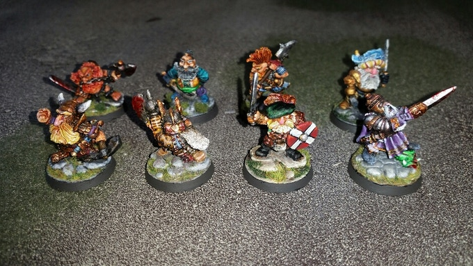 Dwarf Lords of Legend