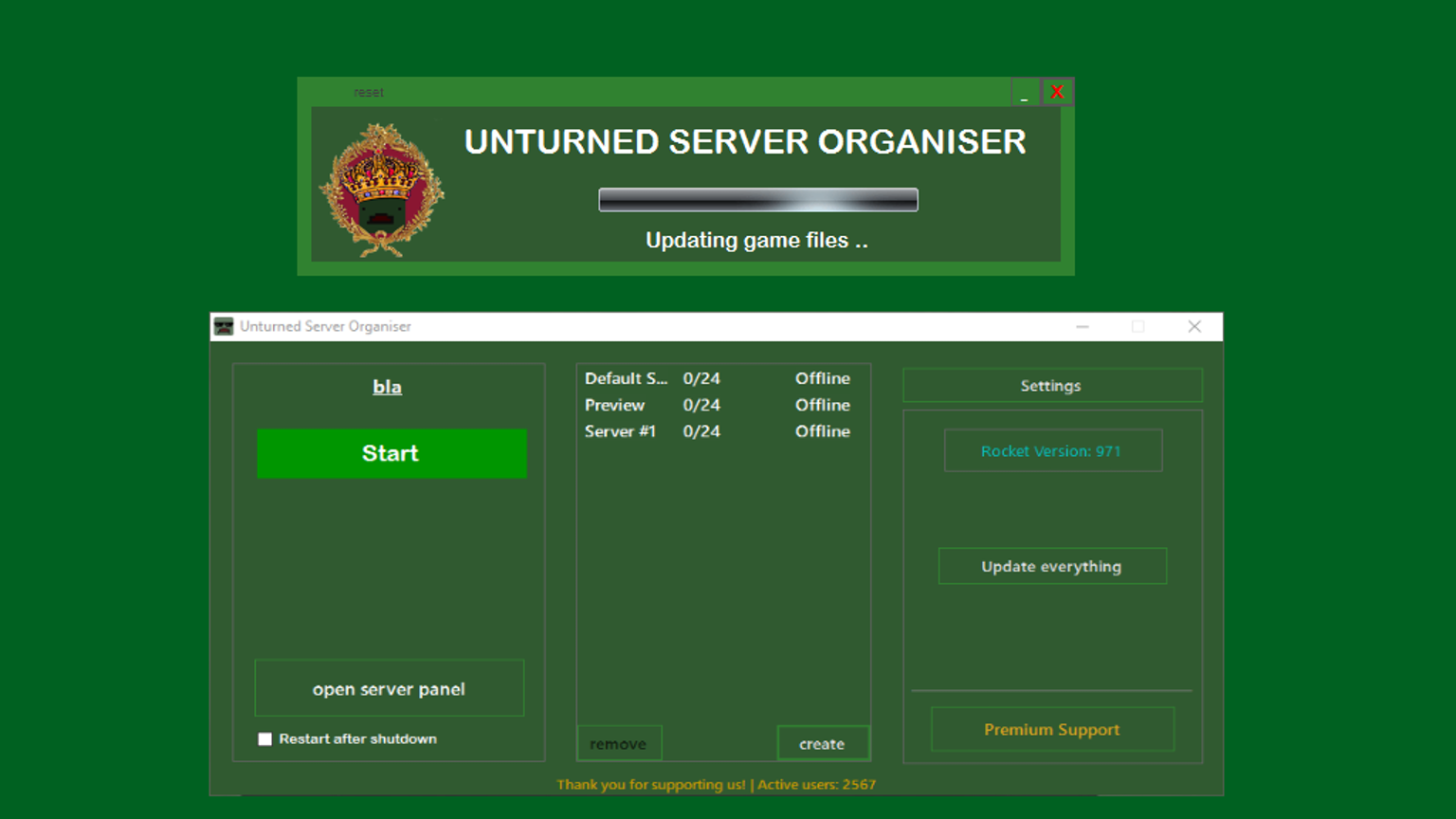 how to make an unturned server mac