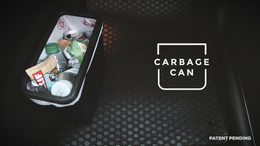 Carbage Can™ | Topple Proof, Slim Trash Can. project video thumbnail