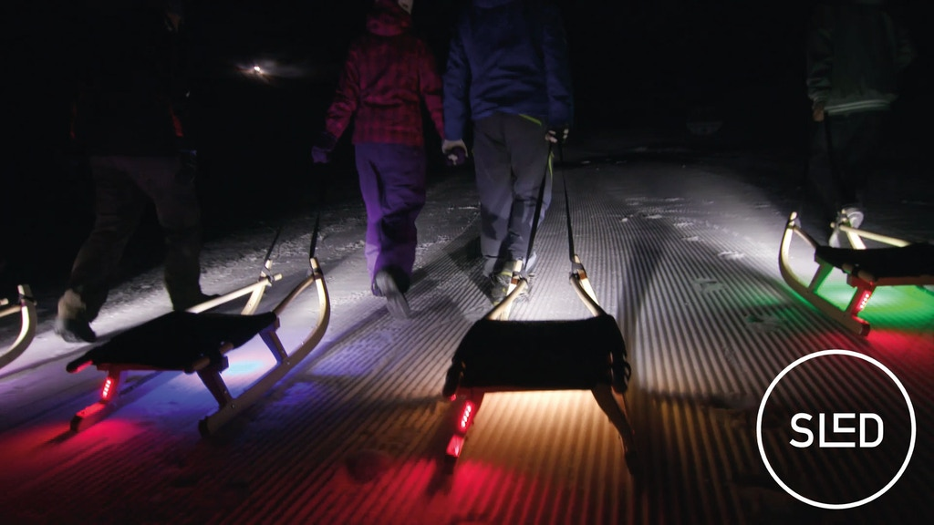 SLED: THE WORLD'S FIRST SLEDGING LIGHT