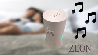 Zeon -The Smart Personal Air Purifier-Ionizer-Wireless Music