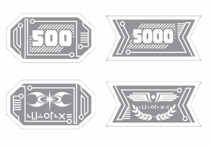 Red 500, Blue 5,000