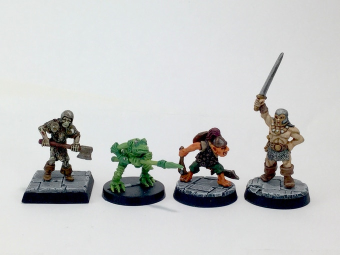 Scale with Citadel miniatures