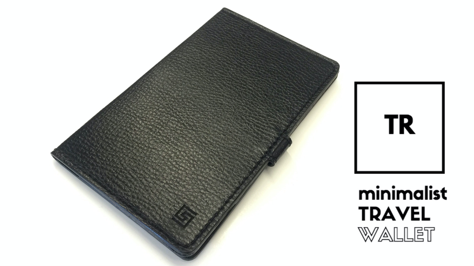 Minimalist and lightweight, the TR Travel Wallet easily carries your passport, bank cards, currency and other essentials