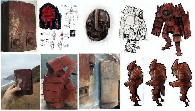sketches of Red