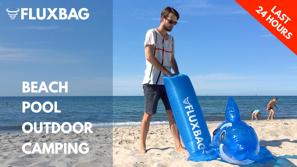 THE FLUXBAG - Inflates anything with just ONE breath project video thumbnail