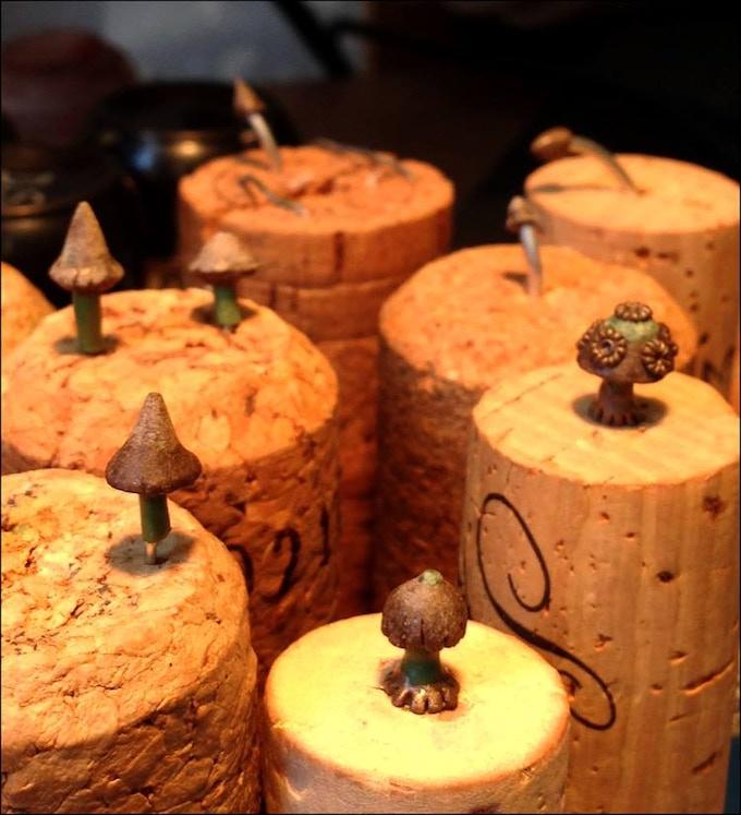 Small Mushroom's & Fungi (10 separate sculpts)