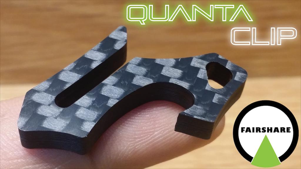 Quanta Clip | Support Open Hardware | Carbon Fiber Key Clip project video thumbnail